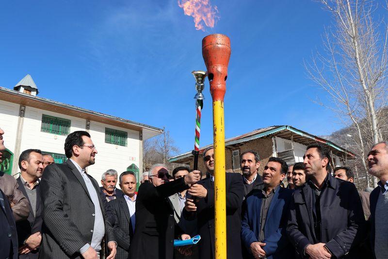 27 روستای رودبار از نعمت گاز بهره مند شدند