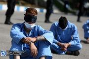 دستگیری اراذل و اوباش قمه به دست در جنوب تهران