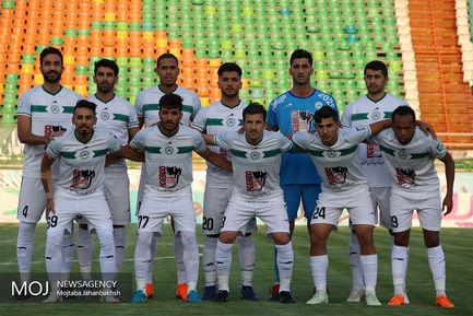 دیدار تیم های فوتبال ذوب آهن اصفهان و پدیده مشهد/عکس تیمی ذوب آهن