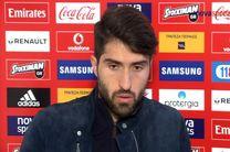انصاریفرد: در یکی از بهترین تیمهای اروپا حضور دارم