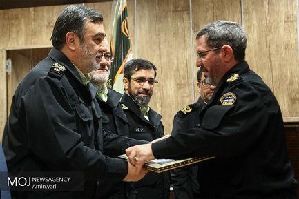 تکریم و معارفه معاونین فرماندهی نیروی انتظامی