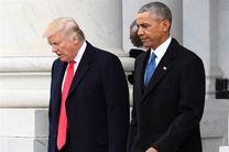 ترامپ به علت خصومت با اوباما از برجام خارج شد!