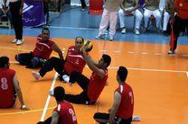 اولین پیروزی ملیپوشان والیبال نشسته ایران در اردوی تدارکاتی آلمان