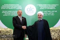 دیدارهای حسن روحانی در حاشیه اجلاس سران کشورهای عضو سازمان همکاری اسلامی