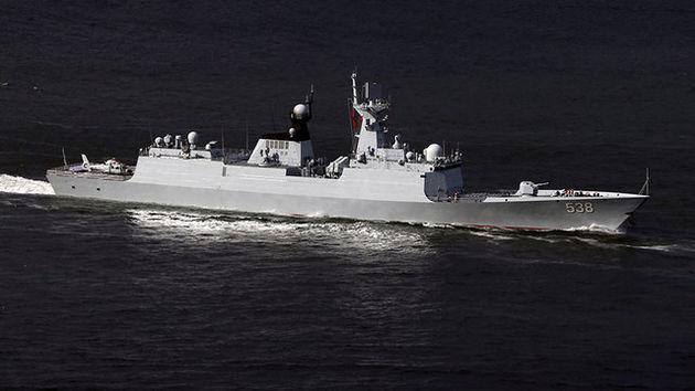 رزمایش دریایی چین در حوالی کره شمالی آغاز شد