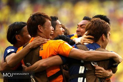 دیدار تیم های ژاپن و کلمبیا