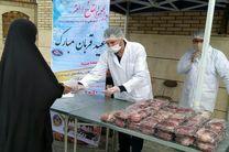 توزیع گوشت قربانی و نذورات در میان نیازمندان