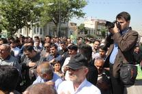 """تشییع پیکر مطهر شهید مدافع حرم """"خوشمحمدی"""" در گرگان"""