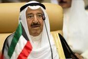 امیر کویت وارد عراق شد