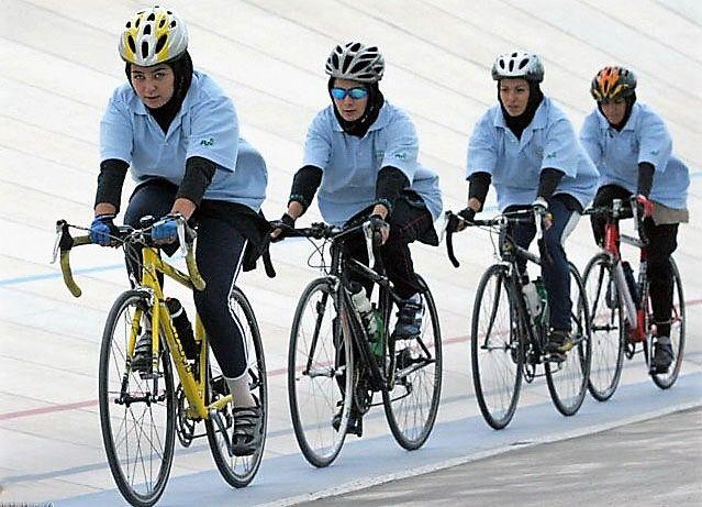 هرمزگان قهرمان لیگ دوچرخه سواری بانوان کشور شد