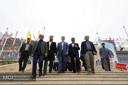 بازدید وزیر ارشاد از سی و دومین نمایشگاه کتاب تهران