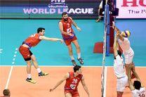 تیم ملی والیبال صربستان وارد تهران شد