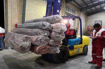 ارسال 1600 تخته موکت به مناطق سیل زده زده در سیستان و بلوچستان