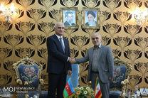 دیدار وزرای اقتصادی ایران و آذربایجان