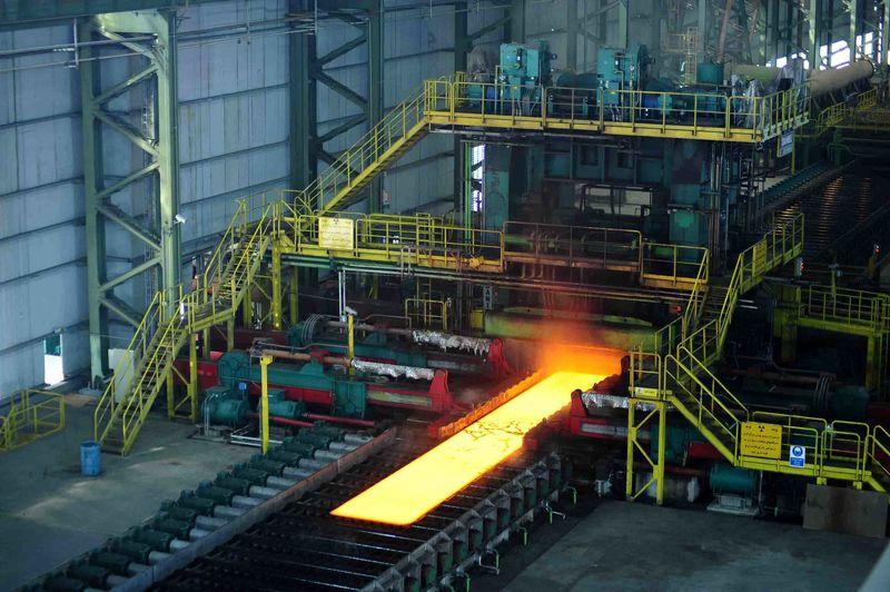قیمت فولاد چین کاهش یافت