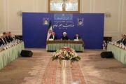 روحانی با ظریف در وزارت خارجه دیدار کرد