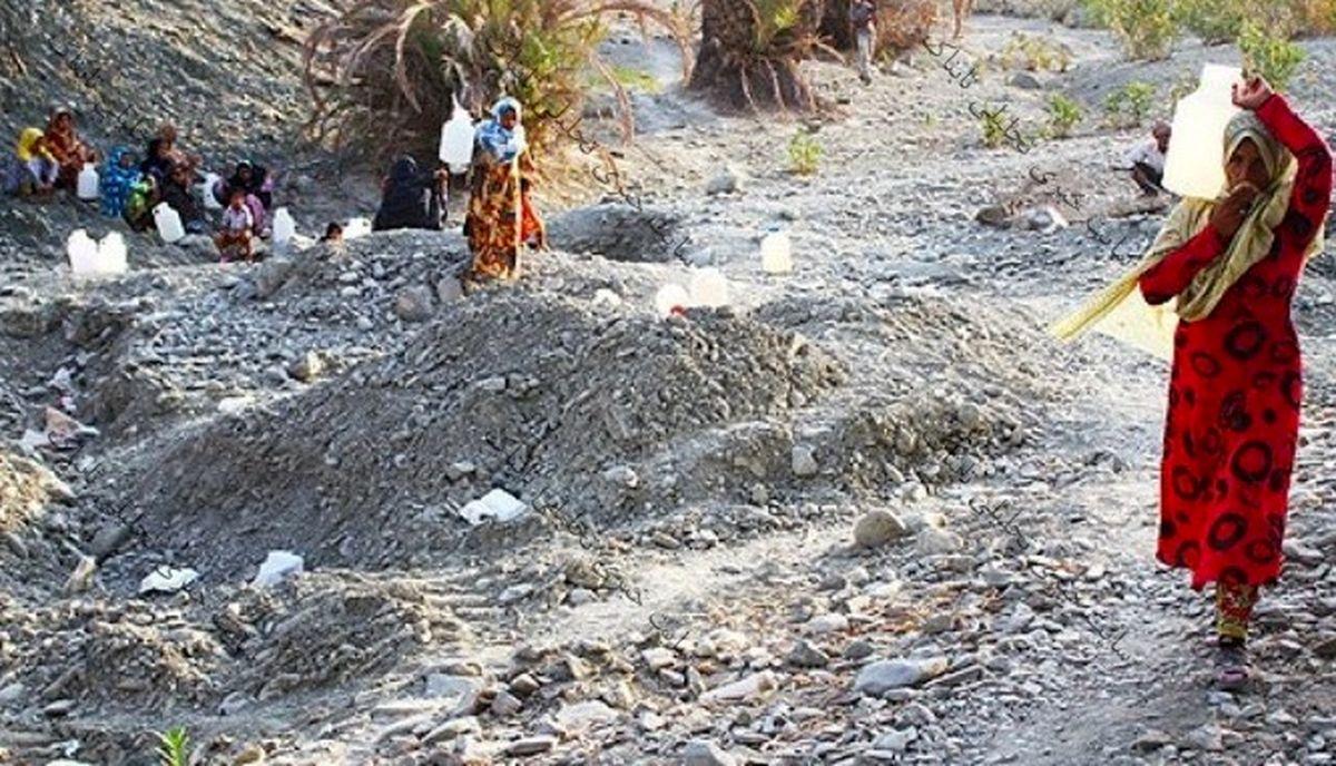 خشک شدن منابع تامین آب روستای کوه حیدر بشاگرد