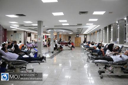 اهدای خون در شب های ماه مبارک رمضان در اصفهان