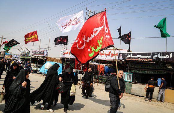 11 موکب پذیرای جاماندگان اربعین حسینی در غرب استان اصفهان بودند