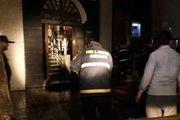 جزئیات آتش سوزی در بانک ملت میدان شهدای گرگان + فیلم