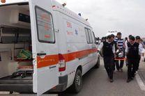 مینیبوس حامل دانشآموزان در نکا واژگون شد