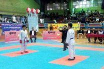 اصفهانی ها در رقابت های کاراته قهرمانی کشور سه مدال کسب کردند