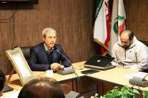 تجلیل ریاست فدراسیون از امیر عمیدی دبیر اسبق و مشاور عالی کمیته استعدادیابی فدراسیون