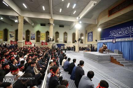 دیدار دانشآموزان و دانشجویان با مقام معظم رهبری