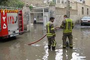 رفع 22 مورد آبگرفتگی منازل در اصفهان