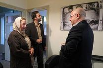 معاون هنری وزیر ارشاد از دبیرخانه جشنواره تئاتر عروسکی بازدید کرد