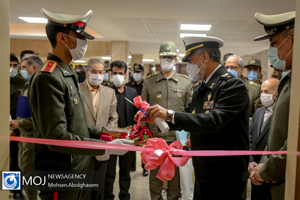 افتتاح مرکز بازی جنگ دانشگاه دافوس آجا
