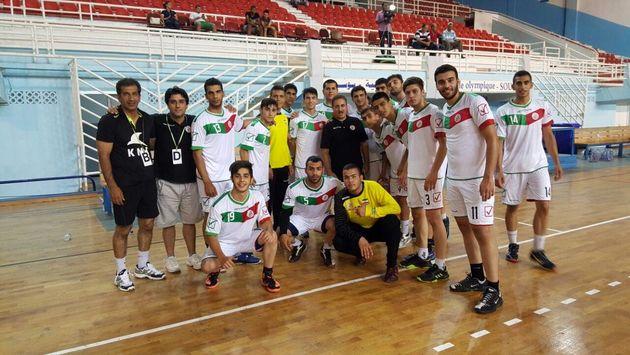 تیم ملی هندبال نوجوانان مقابل تونس شکست خورد