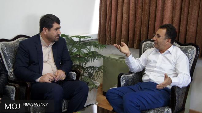 اعلام آمادگی صدا و سیمای مرکز کردستان جهت حمایت از زندانیان جرائم غیرعمد