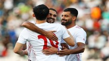 نتیجه بازی فوتبال ایران و کامبوج در نیمه نخست
