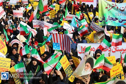راهپیمایی روز ۱۳ آبان ۱۳۹۸ در اصفهان