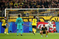 نتیجه بازی دورتموند و بارسلونا/ فرار بارسا از گزند زنبورها