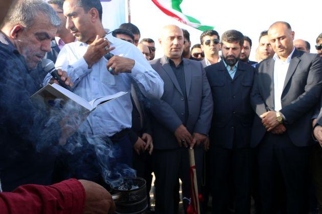 کلنگ آبرسانی  بیش از 50 روستای مسجدسلیمان  به زمین زده شد