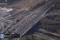 وضعیت ترافیکی بزرگراه های تهران در صبح ۲۳ آذر اعلام شد