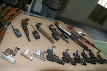 باند بزرگ قاچاق سلاح و مهمات در استان لرستان منهدم شد