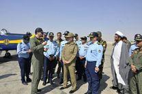 بازدید سرلشکر موسوی از پایگاه شکاری شهید بابایی