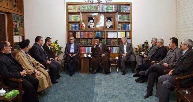 جلسه ستاد بازسازی عتبات عالیات استان آذربایجان شرقی برگزار شد