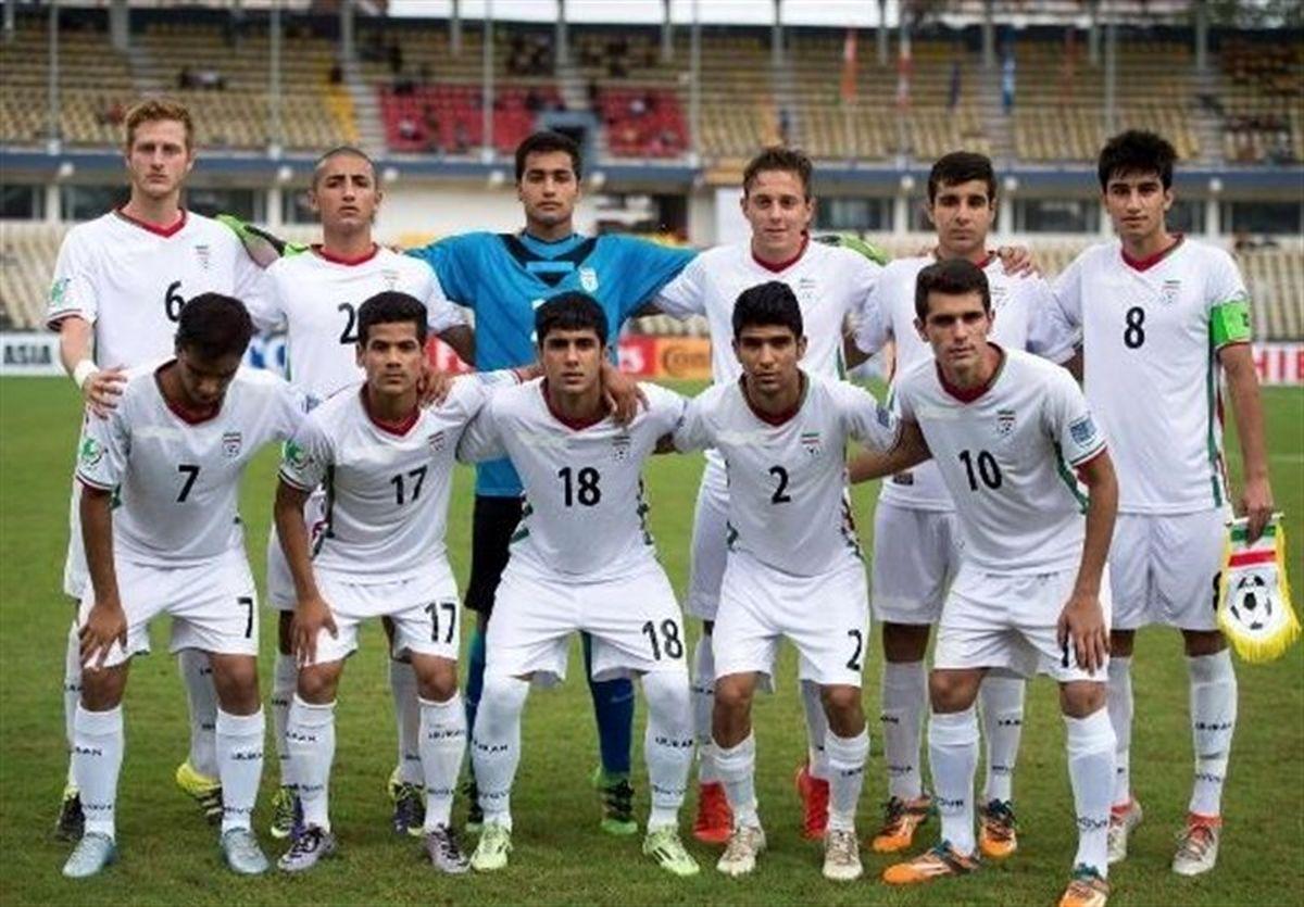 زمانبندی دیدارهای تیم نوجوانان ایران اعلام شد