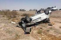 یک کشته و 9 مصدوم  در اثر واژگونی دو خودرو پراید در اصفهان