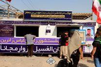 خدمت رسانی روزانه به بیش از 10 هزار نفر در موکبهای حضرت زینبیه اصفهان