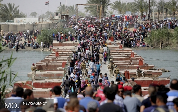 ۶۰ هزار تن از ساکنان الرمادی به شهر بازگشتند