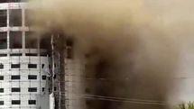 جزئیات آتش سوزی هتل آسمان شیراز