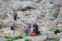 سقوط مرگبار یک کوه نورد اصفهانی از ارتفاعات کوه صفه
