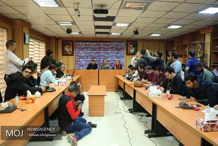 کنفرانس مطبوعاتی برانکو ایوانکوویچ سرمربی تیم پرسپولیس