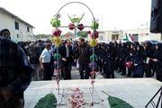 افتتاح دبیرستان دخترانه بتول کشانی در روستای حکمی میناب