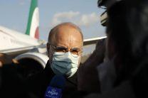 رییس مجلس شورای اسلامی لحظاتی پیش وارد سنندج شد